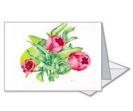 Four Garden Tulips