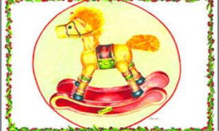 Rocking Horse – Place Mat